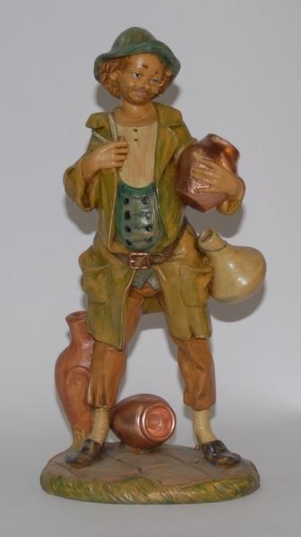 Pastore con vasi cm. 30