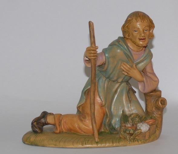 Pastore in ginocchio cm. 30