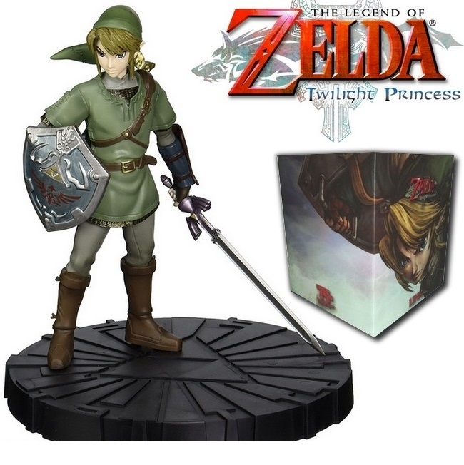 LINK from Zelda Twilight Princess Statue