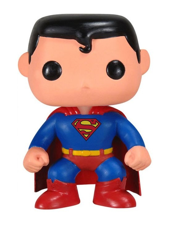 Funko Pop 07: Superman Dc Universe - Loose -