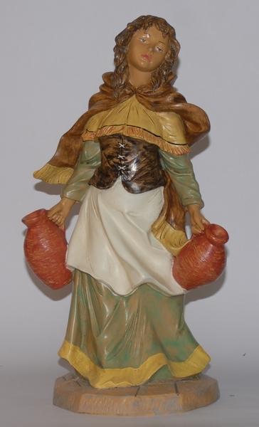 Donna con anfore in plastica cm. 45