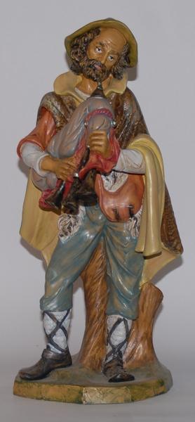 Pastore con zampogna in plastica cm. 45