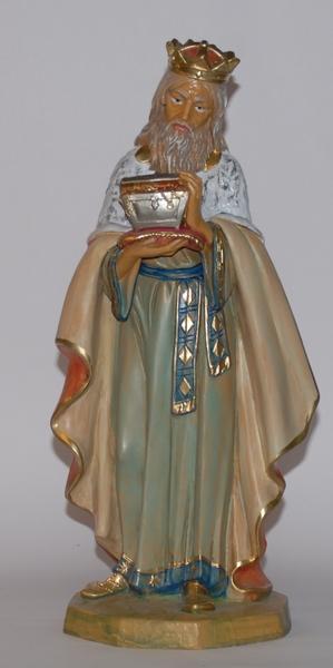 Re Magio bianco in plastica cm. 45