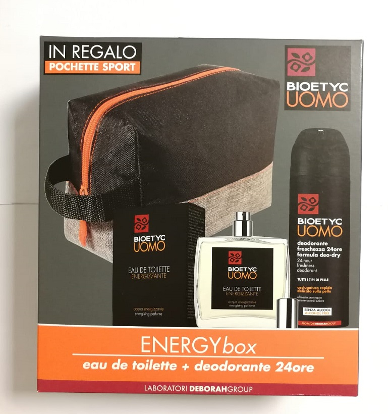 Energy Box Bioetyc Uomo Eau de Toilette + deodorante