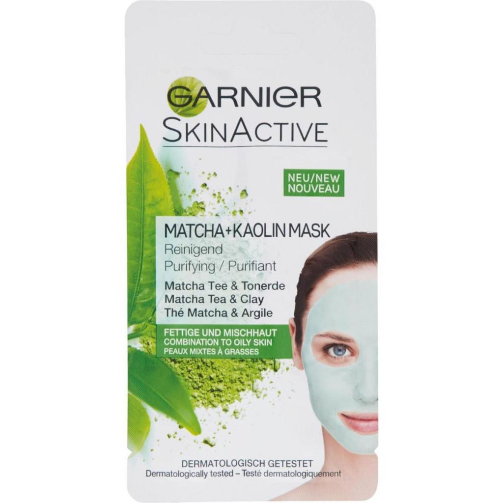 Garnier Skinactive Maschera Viso 8Ml - The Matcha E Argilla - Purificante