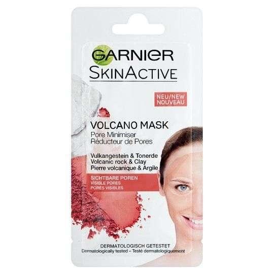 Garnier Skinactive Maschera Viso 8Ml - Roccia Vulcanica E Argilla Rid. Pori