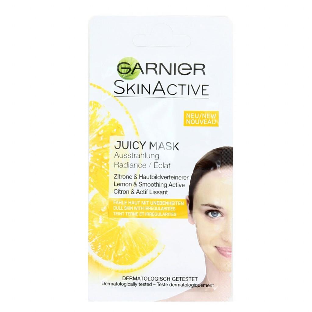Garnier Skinactive Maschera Viso 8Ml - Limone - Azione Illuminante