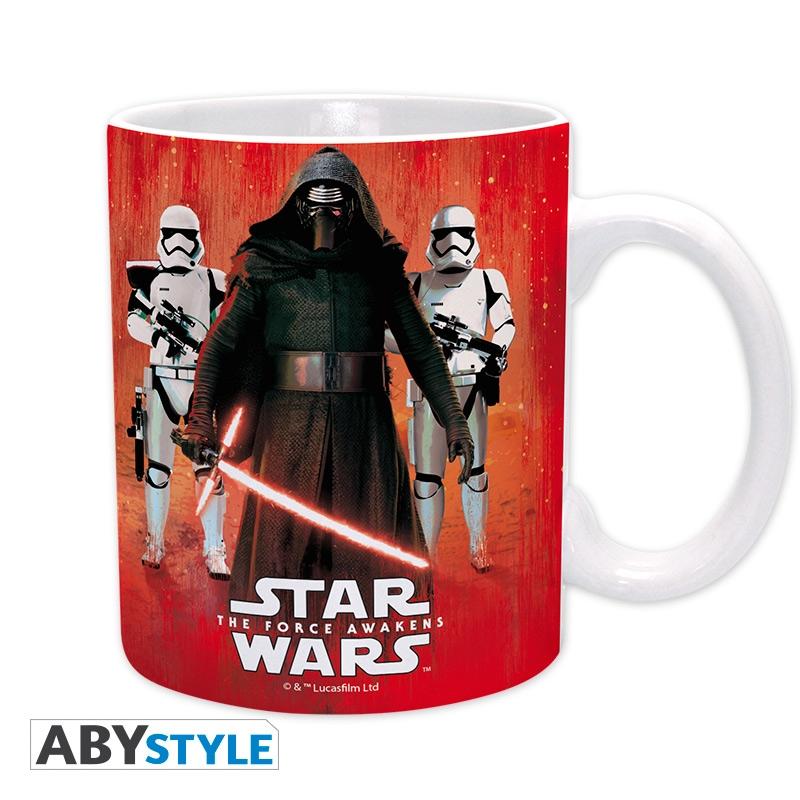 STAR WARS Mug Kylo Ren & Troopers