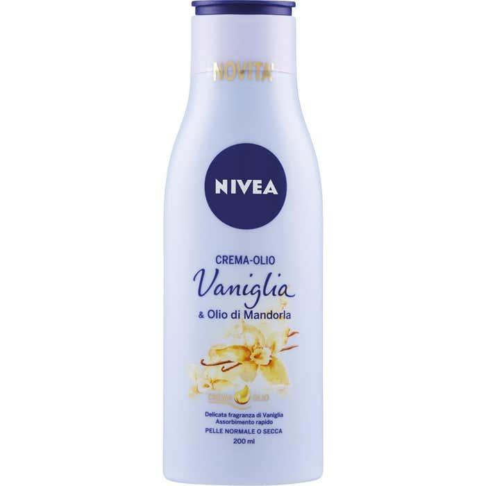 Nivea Crema-Olio Vaniglia e Olio di Mandorla 200 ml