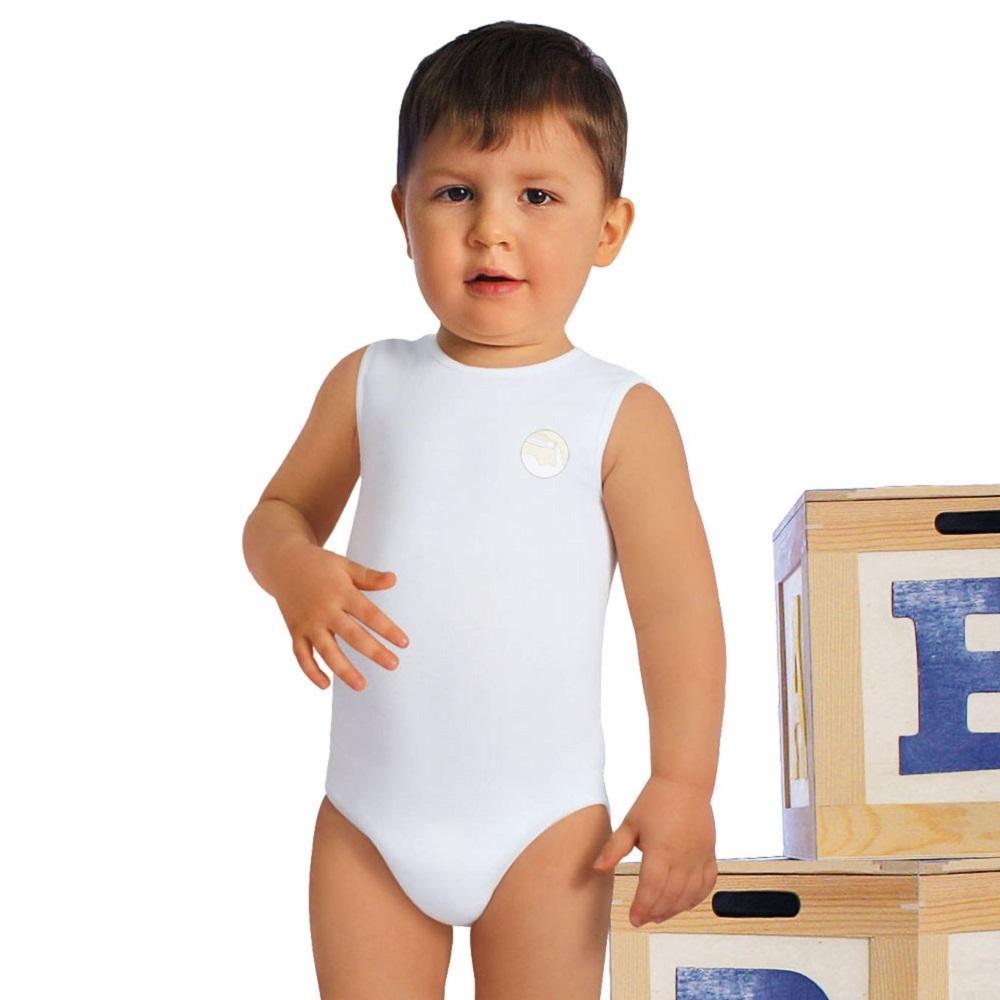Body evolutivo cresce col bambino - anallergico in fibra di Crabyon