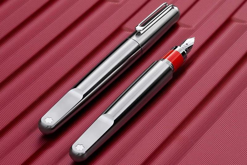 Penna Stilografica Montblanc M RED Signature