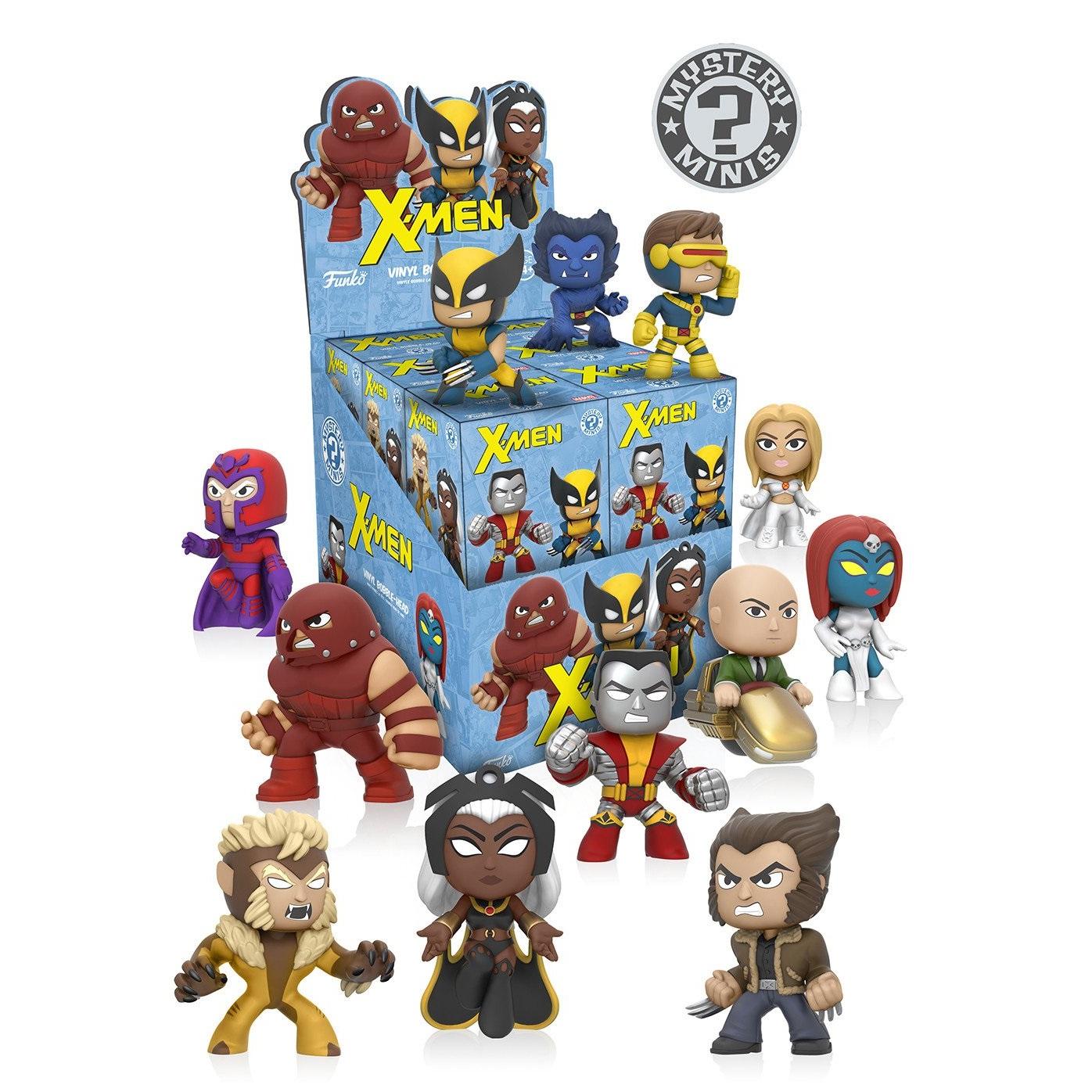 Funko Mystery Minis: X-MEN serie completa