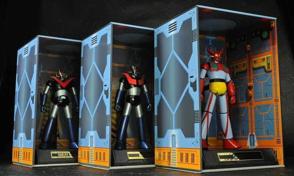 HANGAR for Soul of Chogokin D.C. by Bandai