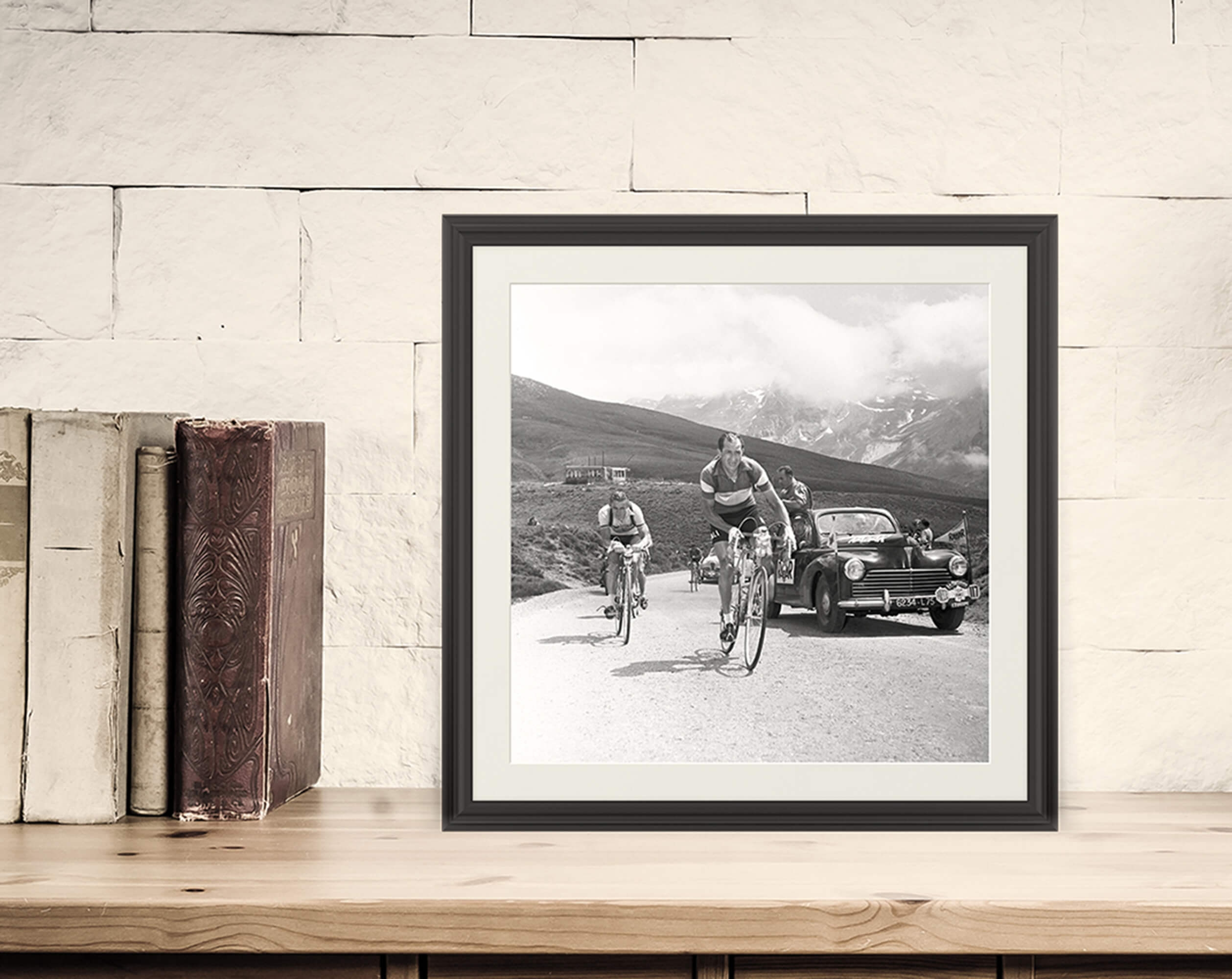Gino Bartali al Tour de France, 1953