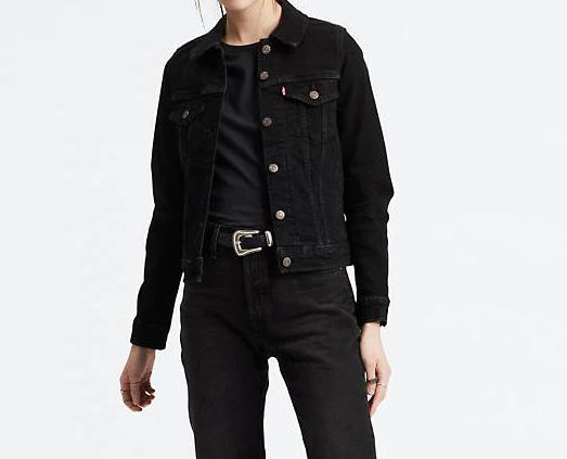 Giubbino jeans donna LEVI'S ORIGINAL TRUCKER JACKET
