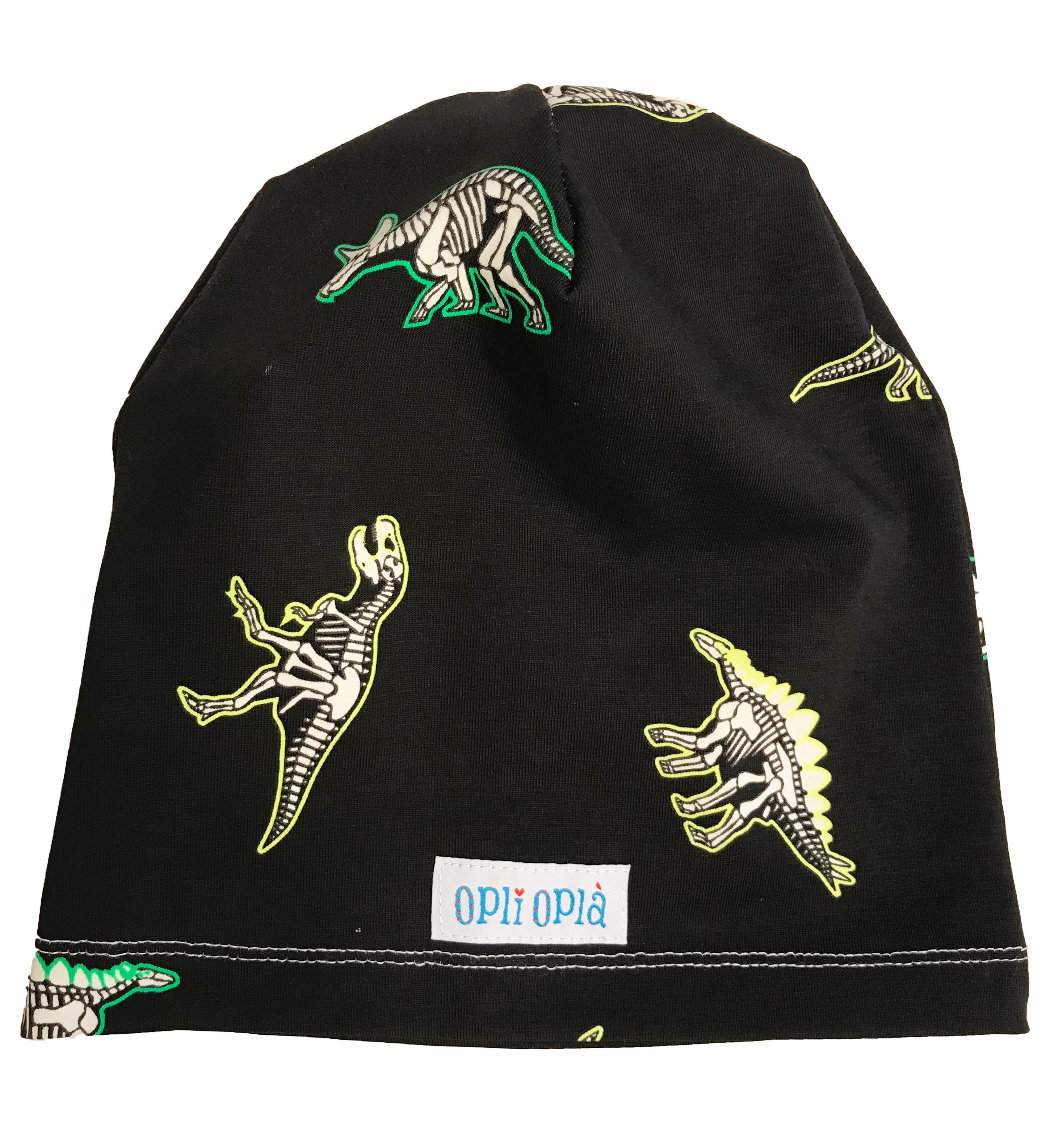 Dinosauro fosforescente - cappello in cotone