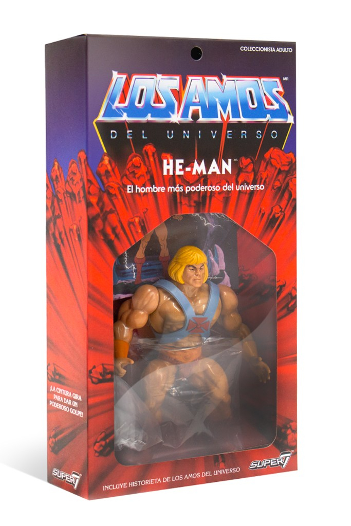 Masters of the Universe: HE-MAN Los Amos (ver. Messico)
