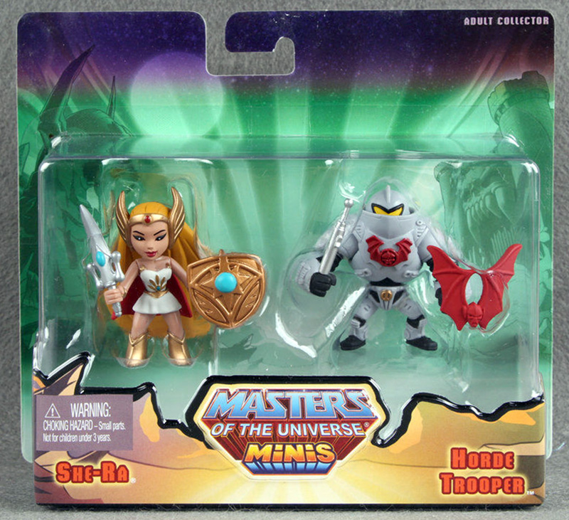 Masters of the Universe Minis: She-Ra & Horde Trooper
