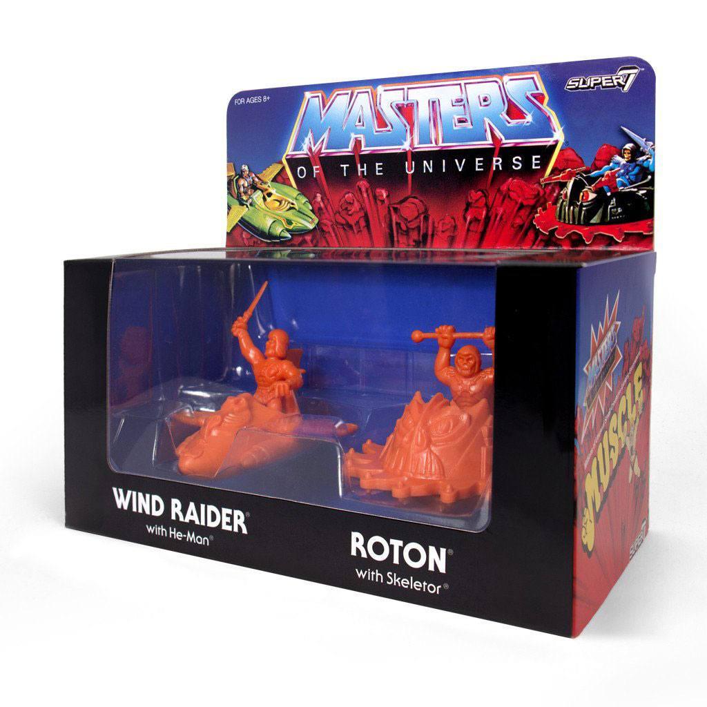 Masters of the Universe m.u.s.c.l.e. Box Orange SDCC 2017