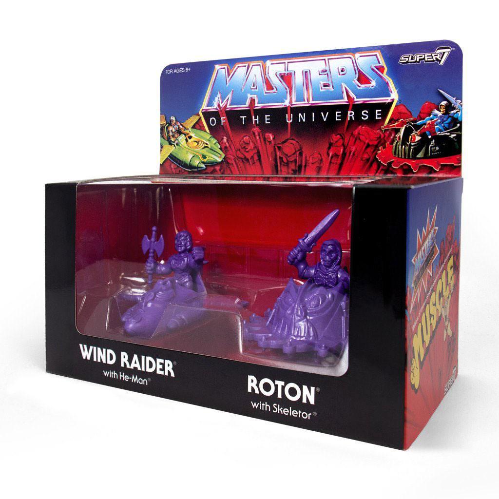 Masters of the Universe m.u.s.c.l.e. Box Purple SDCC 2017