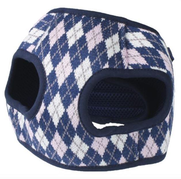 Pettorina per cani PINK/BLUE CHECK