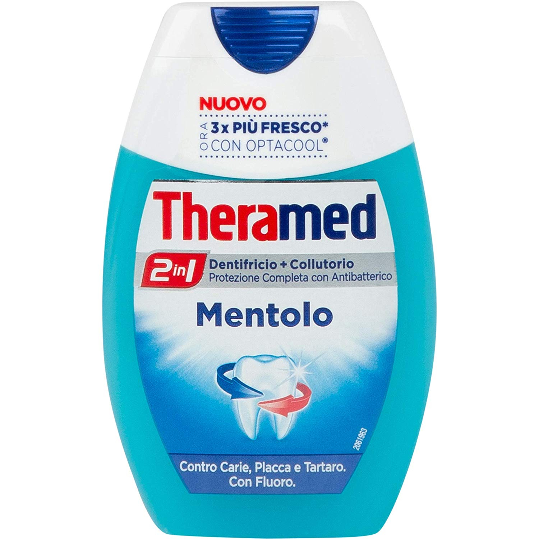 THERAMED 2in1 Dentifricio+Collutorio Mentolo 75ml