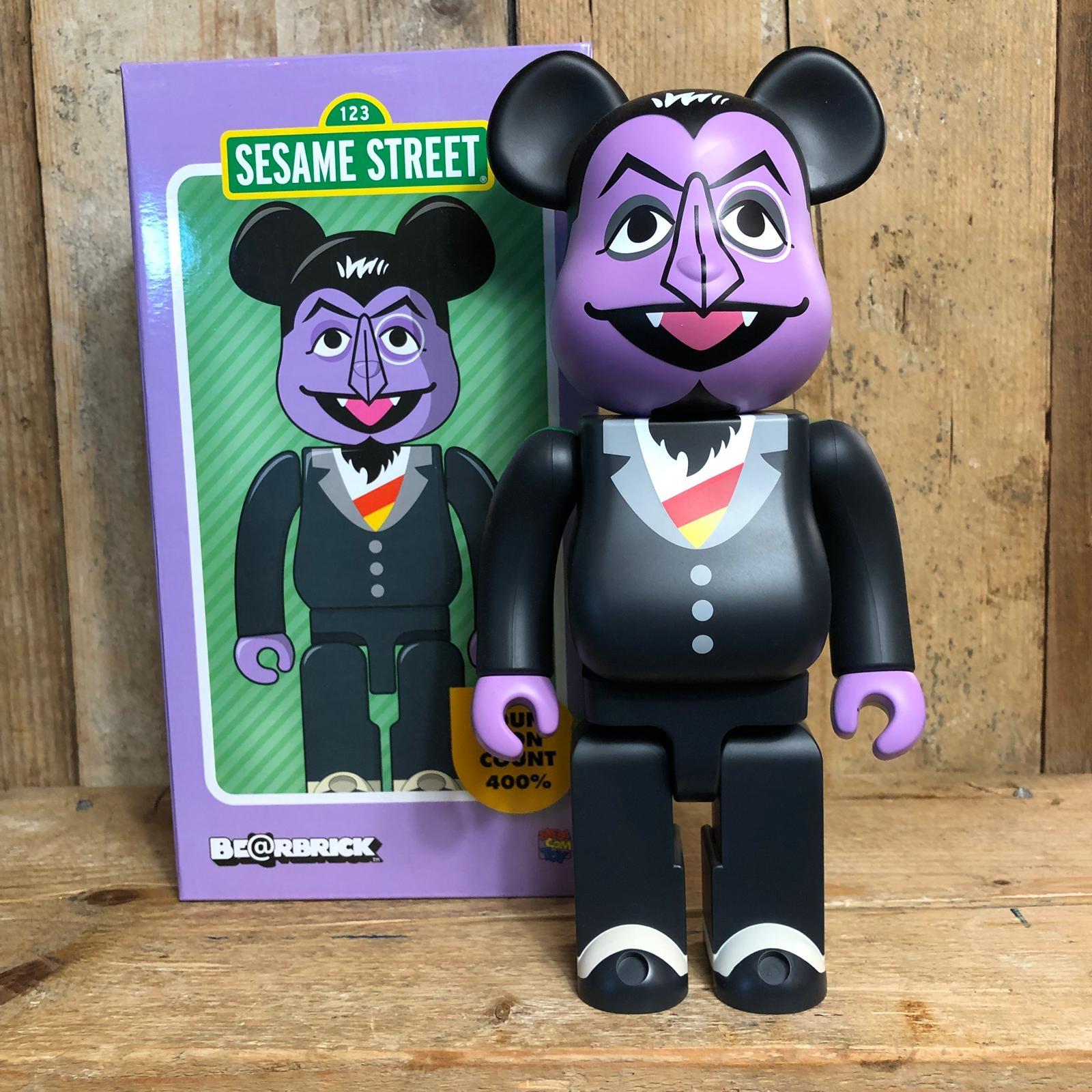 Be@rbrick Medicom Toy Count Von Count 400% Sesame Street 123