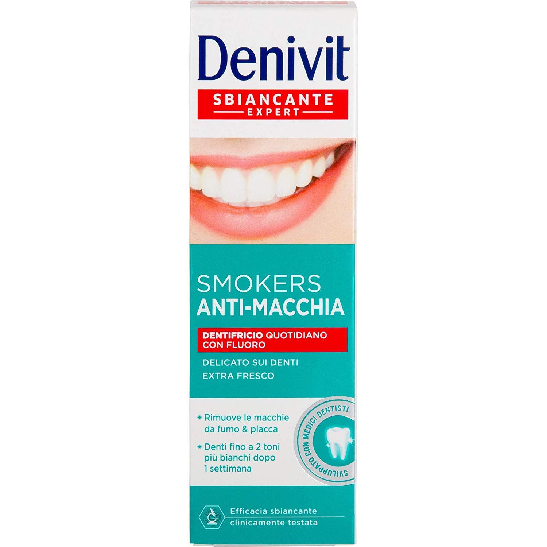 DENIVIT Sbiancante Expert Smokers Dentifricio Anti-Macchia 50ml