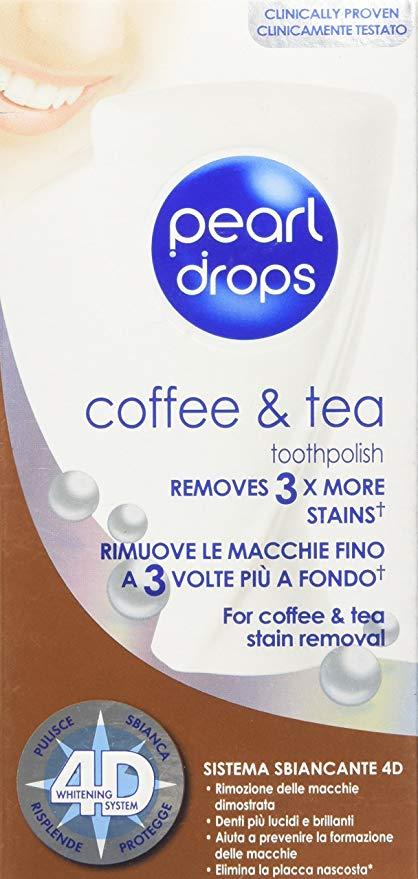 PEARL DROPS Coffee&Tea Dentifricio 50ml