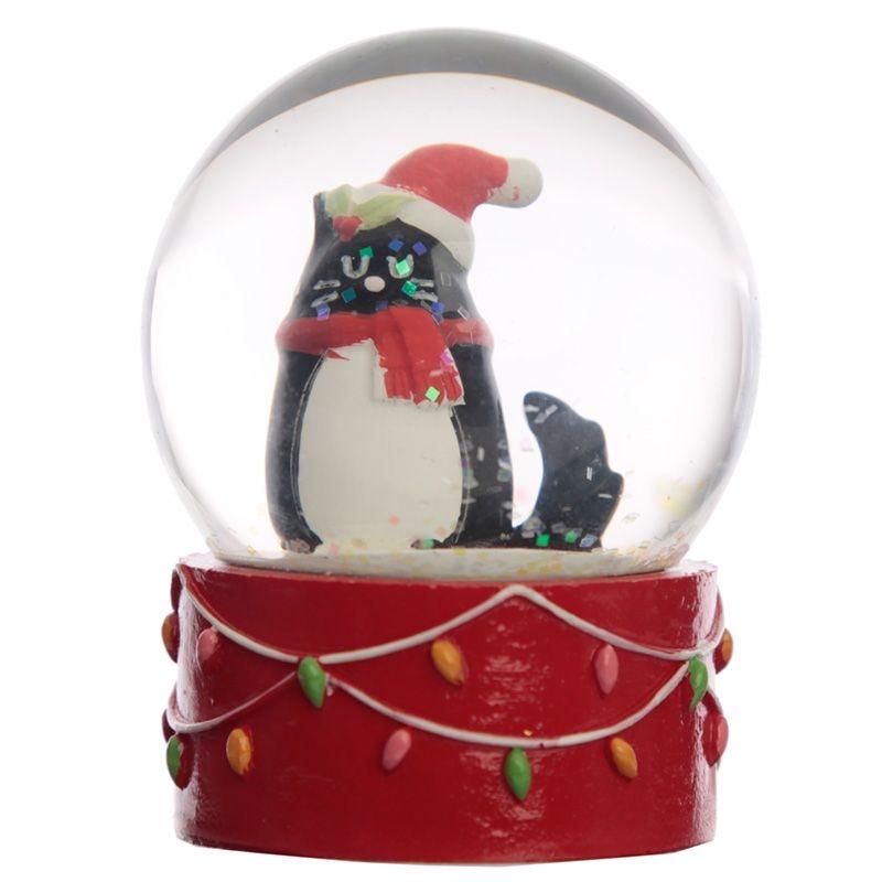 Snowglobe Christmas Felin fine (xwb01)