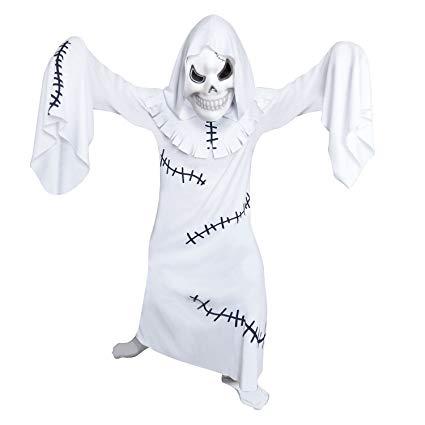 Spaventoso Orribile Ghoul Fantasma Rattoppato 4 -6 anni