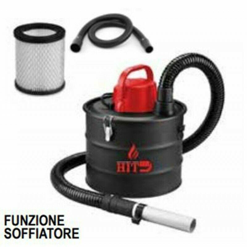 Hit PH0315 bidone aspiracenere con funzione soffiatore 15lt 1200W con filtro hepa