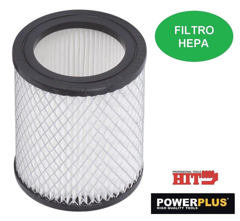 Powerplus filtro di ricambio Hepa per bidone aspiracenere POWX300 e hit PH0315