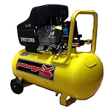 Powerplus PH050 compressore lubrificato olio 50lt potenza 2HP pressione 8 BAR