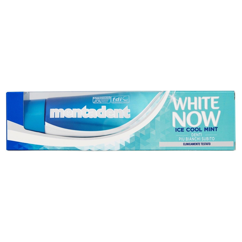 MENTADENT White Now Ice Cool Mint Dentifricio 75ml