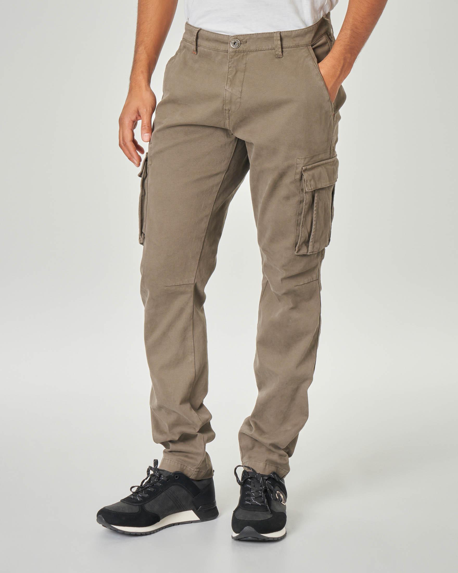 Composizione Del Colore Tortora pantalone tasconato color tortora | pellizzari e-commerce
