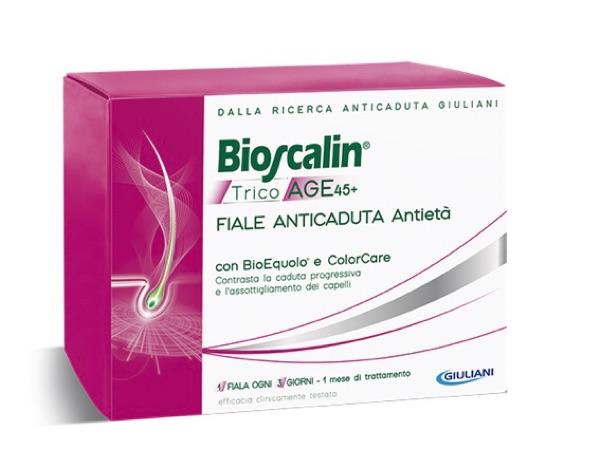 Bioscalin Tricoage 45+ Fiale (trattamento di 1 mese)
