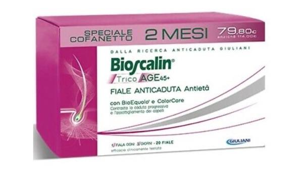 Bioscalin Tricoage 45+ Fiale (2 mesi di trattamento)