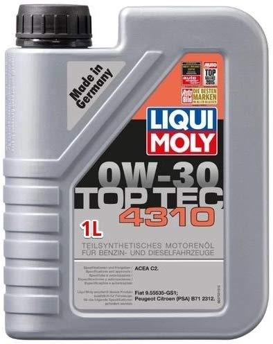 Liqui Moly Top Tec 4310 0W/30 barattolo 1 Lt
