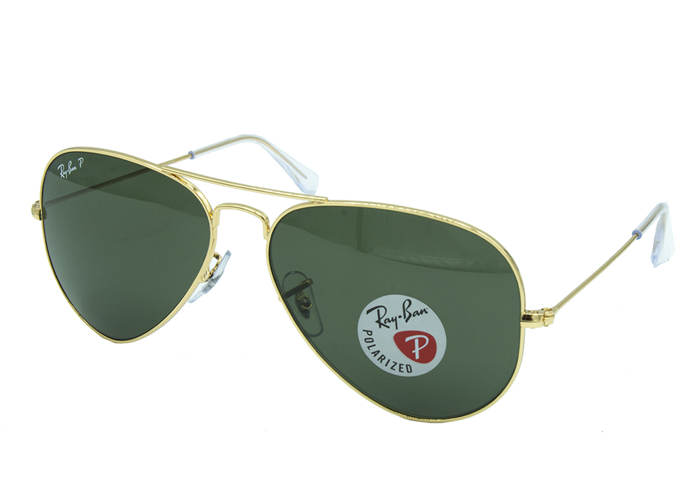 RAY BAN RB3025 001/58 58-14 AVIATOR POLARIZATED