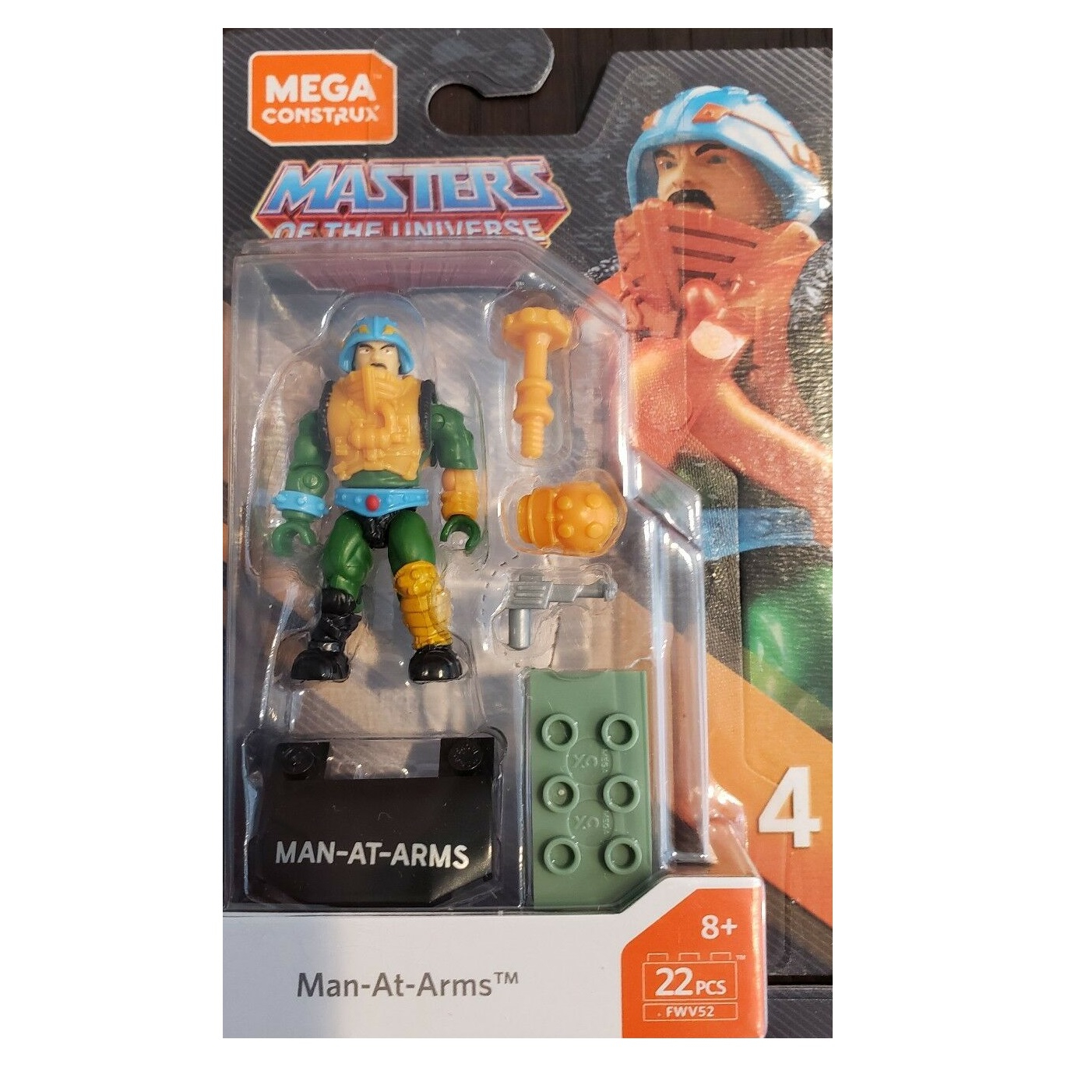 Masters of the Universe - Mega Construx: Man-at-Arms