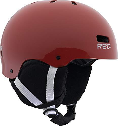 Casco Snowboard Red Protection Burton Trace II