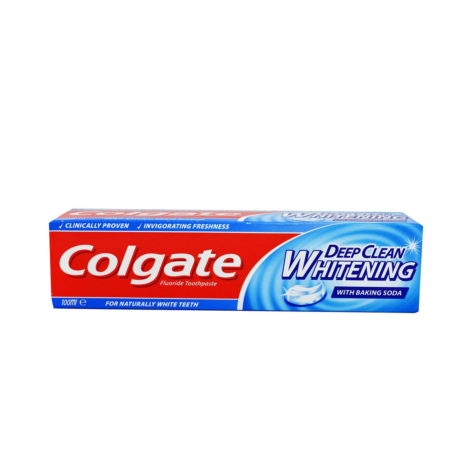 COLGATE Deep Clean Whitening Dentifricio 100ml
