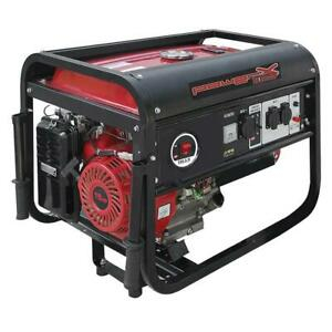 Powerx  ph5500 generatore di corrente 5500W motore 4 tempi 15HP avviamento manuale