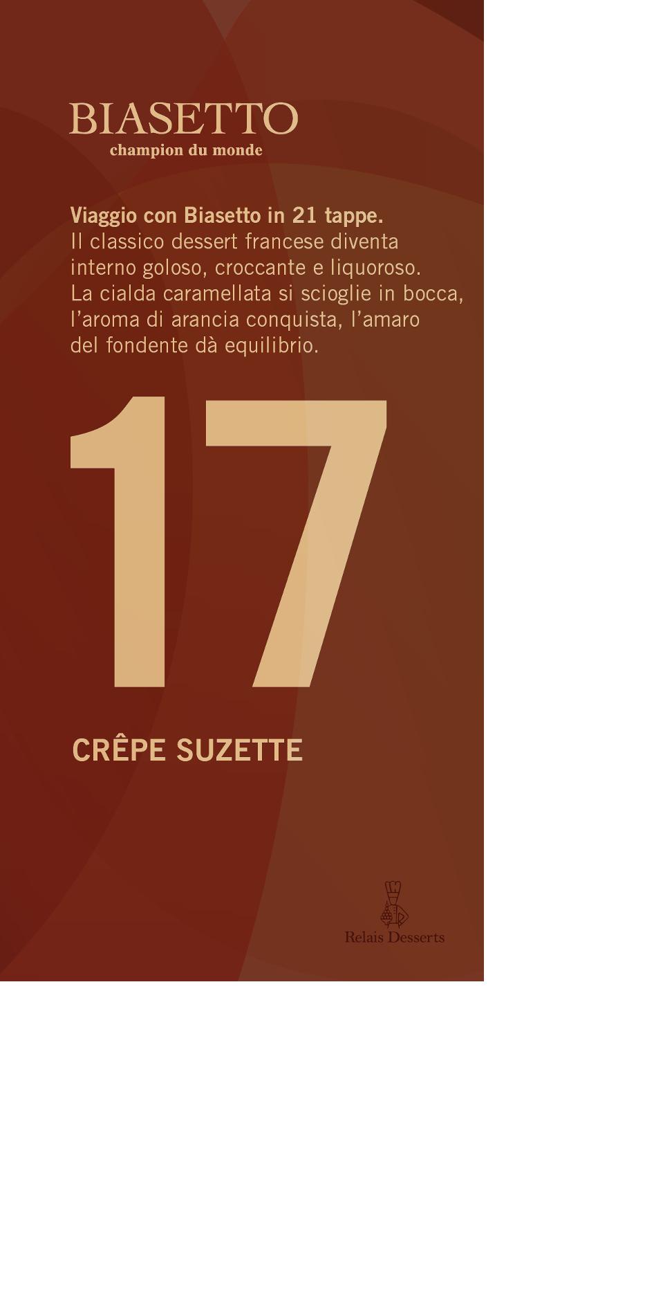 Tavoletta n°17: Crépe Suzette