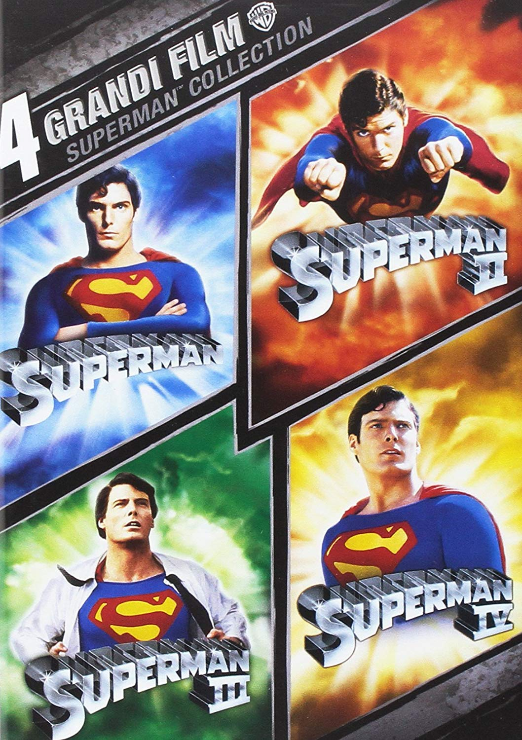 4 grandi film - Superman collection (dvd)