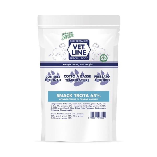 Snack trota Vet Line 80 gr