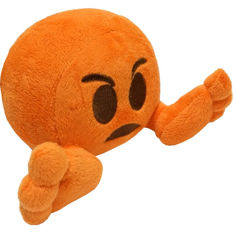 Peluche: Plushiez Emoji (11cm) Angry Face