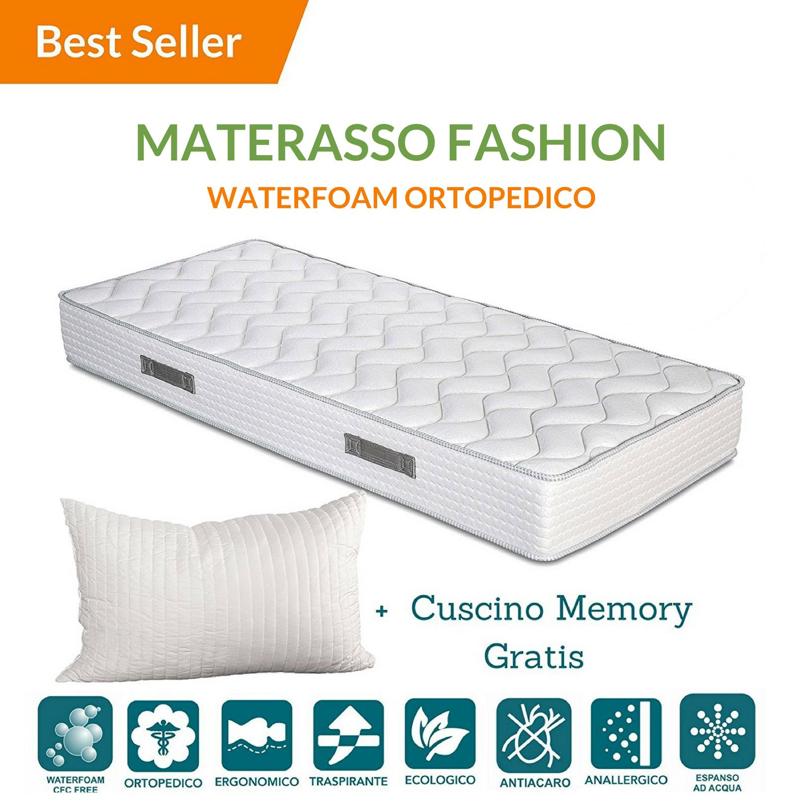 Materasso Ergonomico O Ortopedico.Materasso Waterfoam Fashion 2 0 Evergreenweb