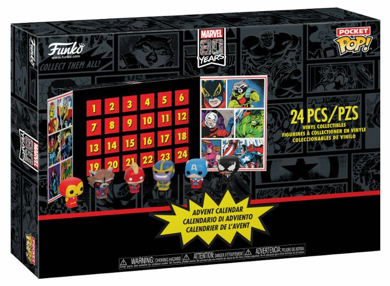 Funko Marvel Super Heroes Advent Calendar 2019 - Pocket POP!